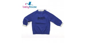 Hugo Boss Maglioncino Jumper Electric Blu J05595-865