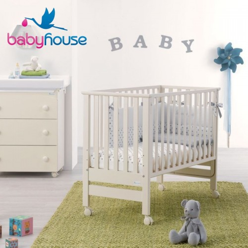 Azzurra design lettino contact bianco baby house for Azzurra culle