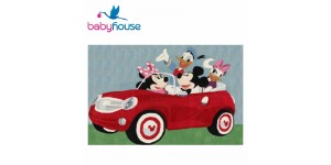 Vivace Tappeto Disney Kids Minnie Mikey's Car Baby House